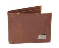 Leather Bi-fold Husker Wallet