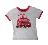 Lil Fella Nebraska Mud Flap Tee