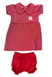 Lil Husker Gals Peter Pan Dress N Bloomers