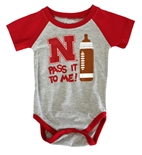 Lil Husker Pass It To Me Onesie