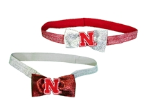 Lil Huskers Glitzy Bow  Headband Set