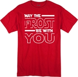 Youth May The Frost Be With You Tee - Red