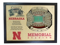 Memorial Stadium Legacy Box Display
