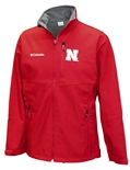 Mens Husker Soft Shell Jacket Columbia