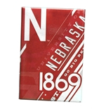 Nebraska 1869 Retro Fridge Magnet