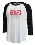 Nebraska Athletic Department Raglan