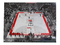 Nebraska Basketball Home Court Print