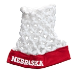 Nebraska Basketball Hoop Head Hat