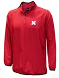 Nebraska Chalmers Quarter Zip Windshirt