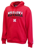 Red Nebraska Champ Huddle Up Hoodie