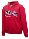 Nebraska Champion Powerblend Full Zip Hoodie
