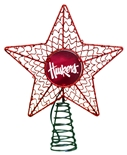 Nebraska Christmas Star Tree Topper