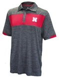 Nebraska Colorblock T.O. Polo