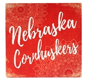 Nebraska Cornhuskers Canvas