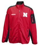 Nebraska Cornhuskers Softshell Peak Jacket