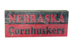 Nebraska Cornhuskers Table Top Stick