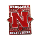 Nebraska Diamond Pin