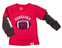 Nebraska Football 1869 Kids Tee