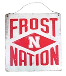 Nebraska Frost Nation Tin Sign