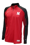 Nebraska Go Route Quarter Zip Windshirt