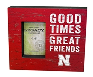 Nebraska Good Times Photo Frame