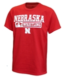 Nebraska Grappling Tee - Red