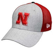 Nebraska Heathered Turn Meshback