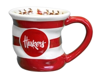 Nebraska Holiday Stocking Mug