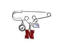 Nebraska Home Sweet School Pin