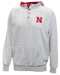 Nebraska Hooded Henley Fleece Jacket