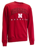 Nebraska Huskers Hero Crewneck - Red