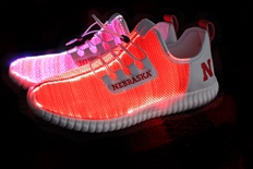 Nebraska Huskers LED Light Up Shoe