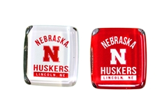 Nebraska Huskers Pep Rally Fridge Magnets