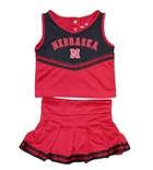 Nebraska Huskers Toddler Girls Cheer Set