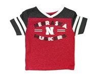 Nebraska Huskers Toddler Girls Good Feather Tee