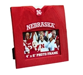 Nebraska Jersey Photo Frame