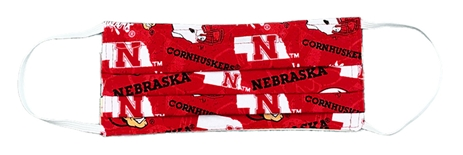 Nebraska Kids N Youth Huskers Mask