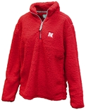 Nebraska Ladies Plush Quarter Zip Jacket