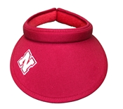 Nebraska Ladies Twill Slide-On Visor