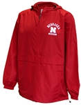 Nebraska Lightweight Full Zip Rain Jacket