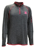 Nebraska Melton Quarter Zip Windshirt