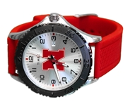Nebraska Mens Banded Gamer Timex