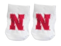 Nebraska N Infant Socks