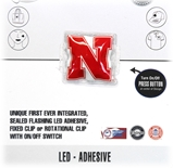 Nebraska N LED Light-Up Decal