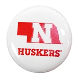 Nebraska Outline Button