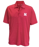 Nebraska Quest Stripe Antigua Polo