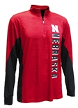 Nebraska Rooskie Quarter Zip Windshirt