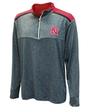 Nebraska Snowball Quarter Zip Windshirt
