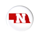 Nebraska State Button