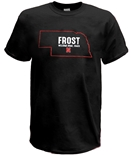 Nebraska State Welcome Home Frost Tee